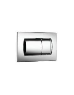 Eco Solution: двоен бутон, бял