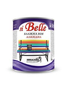Боя блажна алкидна Охра (Оксидно жълта) 0.700кг Si belle