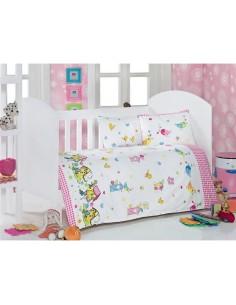 Спален комплект за бебе- 4 части/ 8711-01
