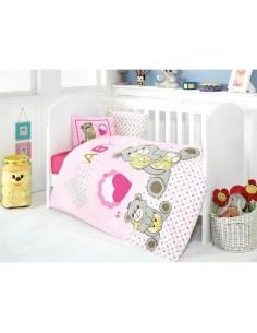 Спален комплект за бебе- 4 части/ 10627- 01