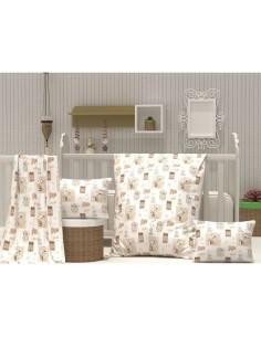 Спален комплект за бебе- 4 части/ 5815- 01