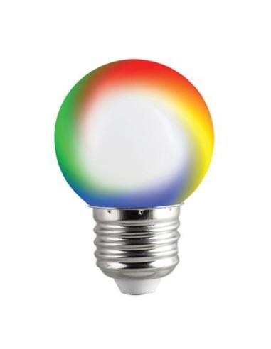 LED КРУШКА COLORS G45 0.5W E27 RGB ВИВАЛУКС 3543