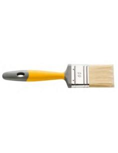 Hardy Четка плоска, серия 90, 35 мм, дръжка жълта 2К