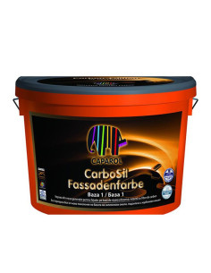 БОЯ ФАСАДНА Carbosil Fassadenfarbe Baza 1 10Л CAPAROL