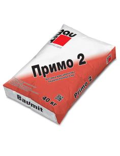 БАУМИТ МАЗИЛКА ВАРО-ЦИМЕНТОВА ПРИМО 2, 2ММ- 40КГ Baumit - 1