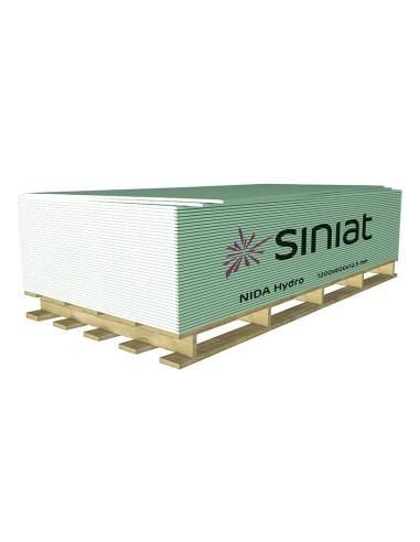 Гипсокартон влагоустойчив 12,5мм/1200мм/2000мм Siniat - 1