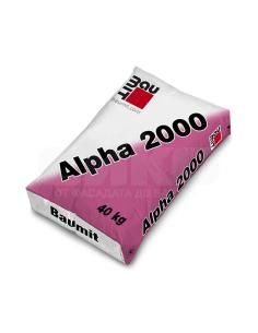 САМОРАЗЛИВНА ЗАМАЗКА АЛФА 2000 40 КГ. БАУМИТ Baumit - 1