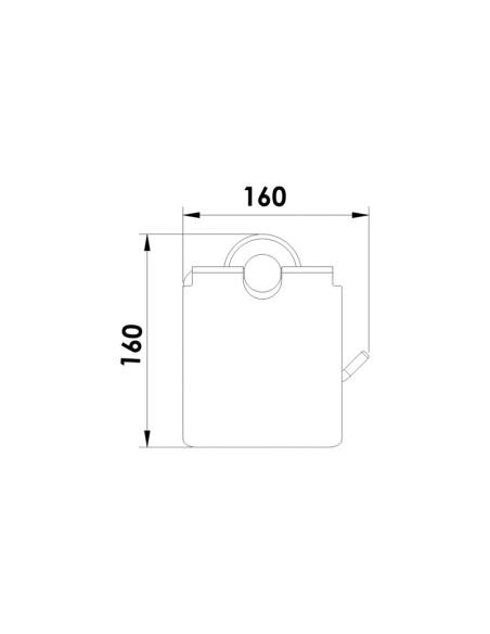 """Поставка за тоалетна хартия """"сахара"""", inter ceramic INTER CERAMIC - 1"""