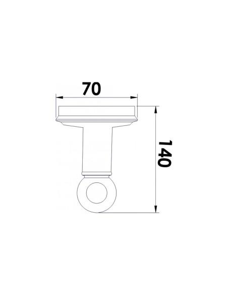 "Закачалка за баня ""сахара"" inter ceramic INTER CERAMIC - 2"