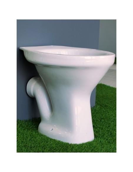 Тоалетна чиния със задно оттичане INTER CERAMIC - 2