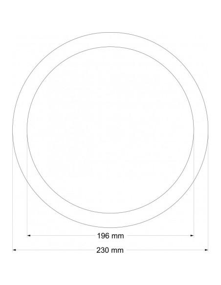 """Козметично огледало """"НОА"""" ICА 8177 INTER CERAMIC - 1"""