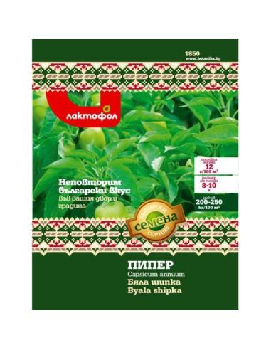 Семена пипер Бяла шипка Лактофол Ботаника - 1