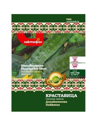 Семена краставица Деликатесна Лактофол Ботаника - 1