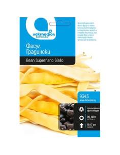 Семена жълт фасул Supernano Giallo Лактофол Ботаника - 1