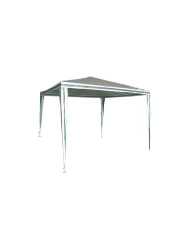 Градинска шатра бяло-зелена 3х3 м ДРУГИ - 1