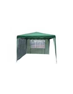 Градинска шатра бяла/зелена 3х3м с две страници ДРУГИ - 1