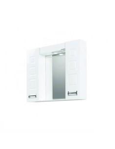 Горен шкаф за баня с огледало Макена Лагуна Makena - 1