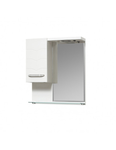 Горен PVC шкаф за баня с огледало Макена Перла Makena - 1