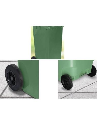 Пластмасов кош за отпадъци, 240 л ROTO - 2
