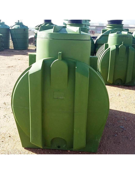 Резервоар за подземен монтаж 2500 л ROTO - 2