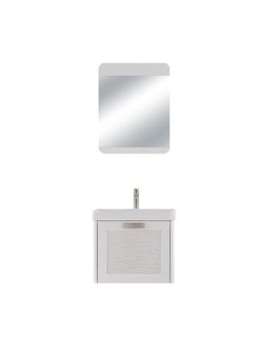 Комплект шкаф за баня с огледало GÜRSU ДРУГИ - 1