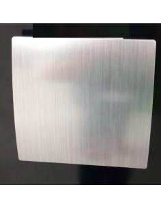 Вентилатор ММ-P 100/105, квадрат, с клапа 01, сребро MMotors JSC - 1