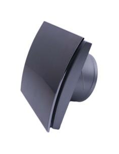 Вентилатор MM-P 100/169, квадрат, стъкло, черен гланц, с клапа 06 MMotors JSC - 1