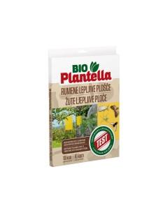 Лепящи жълти листове за защита на растенията от насекоми Bio Plantella- 10 бр. ДРУГИ - 1