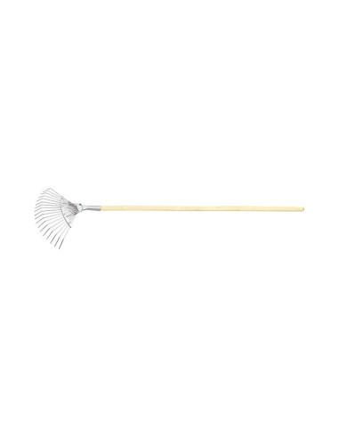 Гребло за листа тип ветрило, поцинковано, 18 зъба, Сибртех СИБРТЕХ - 1