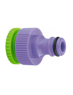 Адаптер за кран, вътрешна резба 1/2''-3/4'', пластмасов PALISAD - 1