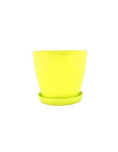 Саксия Флора гланц Ø17 см жълта ДРУГИ - 1