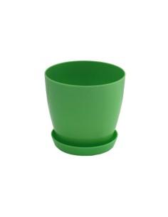 Саксия Флора гланц Ø14 см зелена ДРУГИ - 1