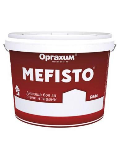 Интериорна боя Мефисто 25 кг - бяла ОРГАХИМ - 1