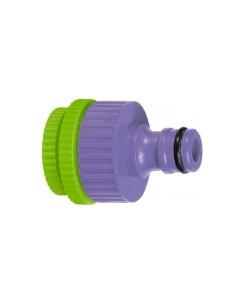 Адаптер за кран, вътрешна резба 1/2-3/4-1, пластмасов, Palisad PALISAD - 1