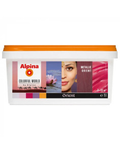 Оцветен латекс METALLIC ORIENT ALPINA - 1л ALPINA - 1