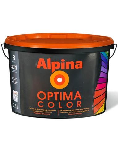 Интериорна боя база А, Аlpina Optima Color - 2.5 л ALPINA - 1