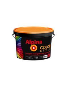 Интериорна боя база B, COLOR STYLE ALPINA - 2.5 л ALPINA - 1