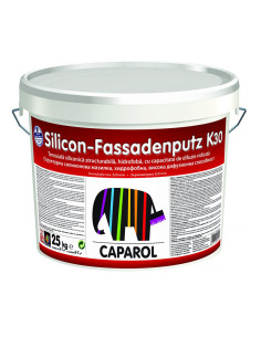 Силиконова мазилка Caparol Silicon-Fassadenputz К15 база 25кг