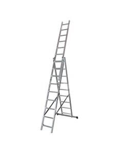 Трираменна алуминиева стълба 3x7 - CH307 АРОН БГ - 1