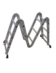 Мултифункционална стълба МH403, 4x3, шарнирна, алуминиева АРОН БГ - 1