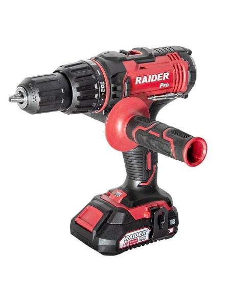 Винтоверт акумулаторен ударен RAIDER RDP-SCDI20