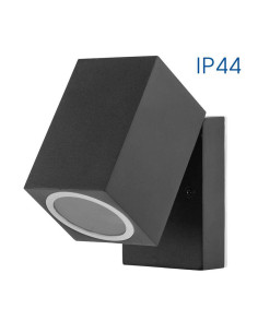 Влагозащитен фасаден аплик SEOUL/W 1 X GU10 BK IP44 VIVALUX - 1