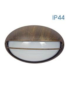 Влагозащитен аплик Petra 1хЕ27 IP44 старо злато VIVALUX - 2