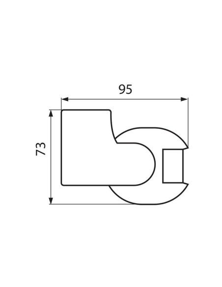 Инфрачервен сензор за движение FLEX SR18-B VIVALUX - 1