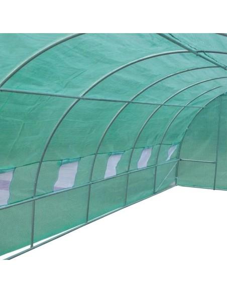 Оранжерия тунелна My garden, 6х3х2м, РЕ, с 12 прозореца и 2врати ДРУГИ - 2
