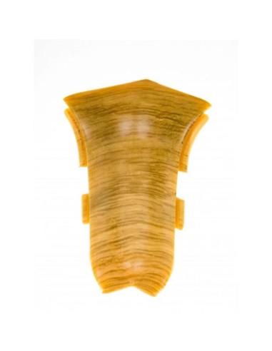 Вътрешен ъгъл за PVC перваз Salag SG56/56 винен дъб SALAG - 1