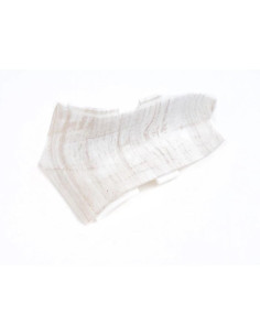 Вътрешен ъгъл за PVC перваз Salag SG56/71 Бял селски дъб SALAG - 1