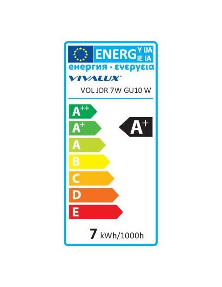 LED лампа VOLUX LED- JDR- 7W- 450LM- GU10 - 6400K VIVALUX - 3