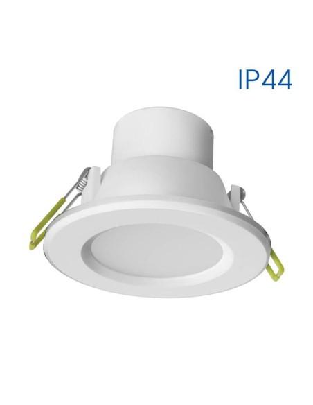 Влагозащитена LED луна за вграждане TOP LED 6W WH/WW 3000K VIVALUX - 1