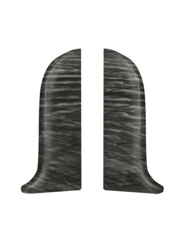 Лява тапа за PVC перваз Salag SG56/F9 - Дъб Бедрог SALAG - 1